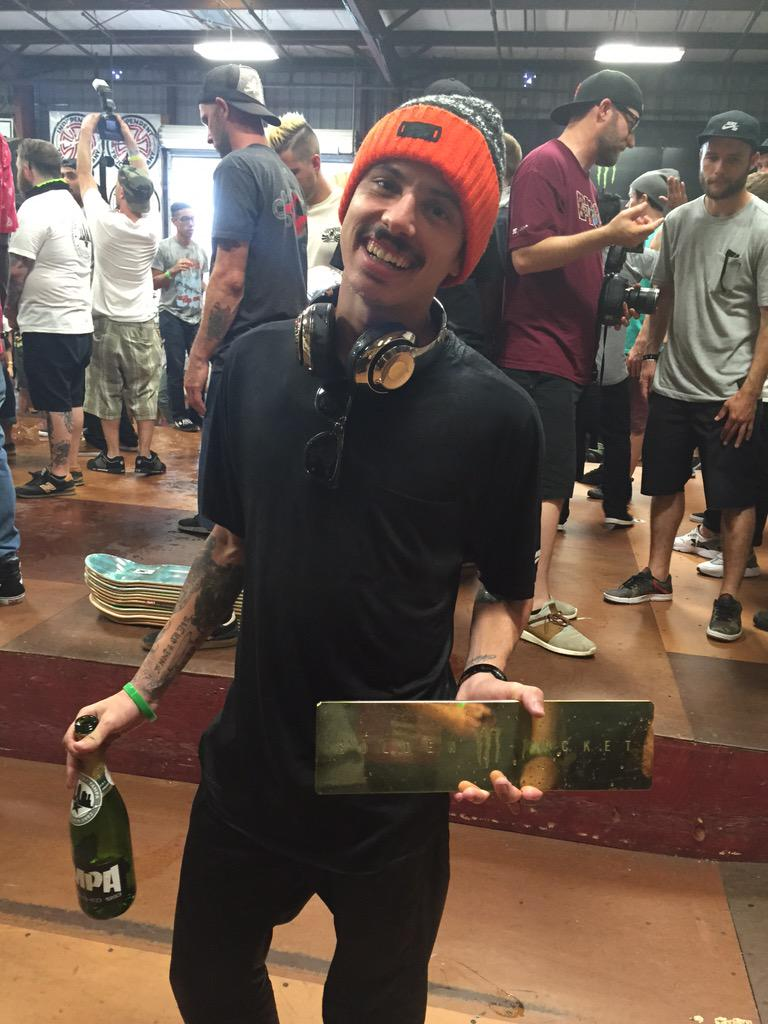 Luan Oliveira got 1st place at #TampaPro 2015! Congrats Luan, you absolutely killed it!!!