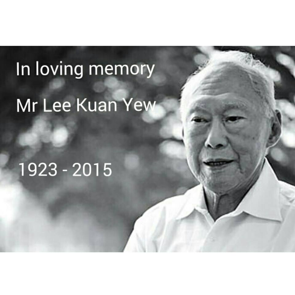 Sir, may you rest in peace. You've made a Singapore we are so proud to call our home. Thank you. #RIPLKY http://t.co/ipTdLm1EOS
