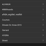 #MMAwards is trending!!!  Wooohoooooooo!!! Yay! @Mirchi983FM @prash_realtruth @indu_r @sappysnappy @tapassen1 http://t.co/30ycuFFWWo