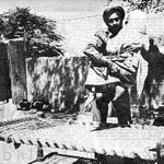 1965- Hasana Begum, 85, deserted by family, is helped to a cot outside her home by an Indian soldier-Salian, Sialkot https://t.co/HcPNp9Cy2r
