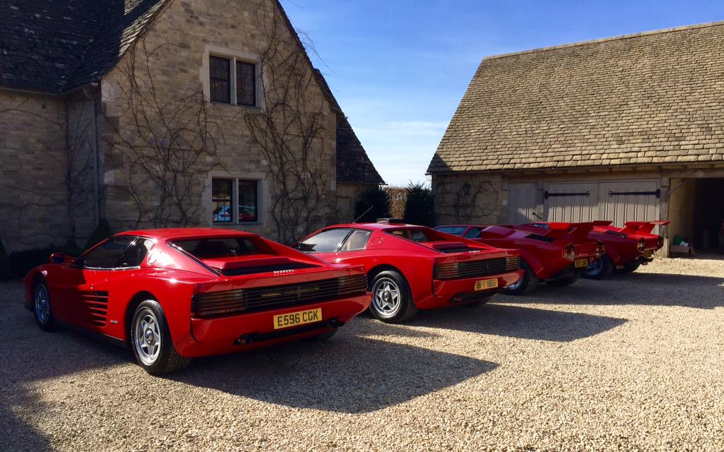 My Testarossa/Testarossa/Countach/Countach photo from earlier seems to have been popular, so here's a few more.. http://t.co/Wc0TQSdmav