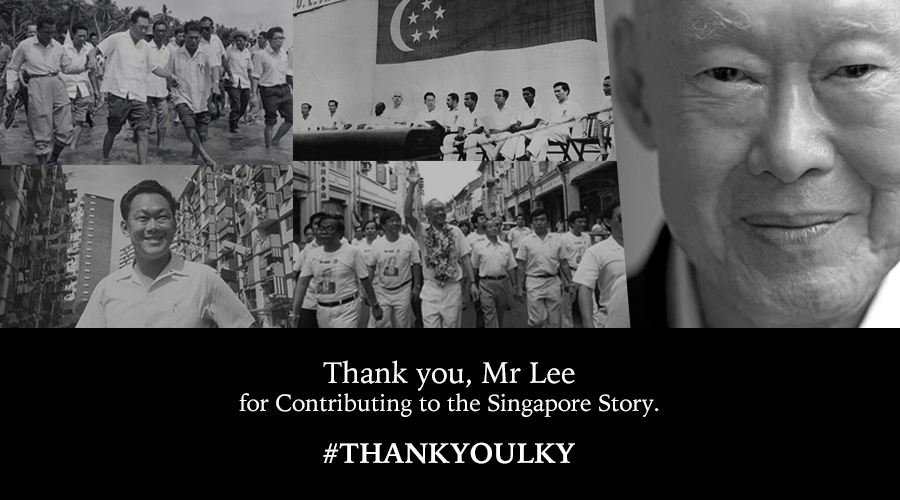 Today, we lost our founding father. May you rest in peace. #THANKYOULKY  http://t.co/ScKdx1gqYo http://t.co/5h6aJNWvVz