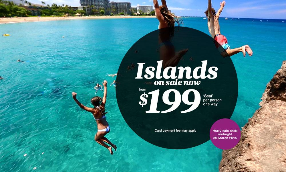 The Islands - on sale now.