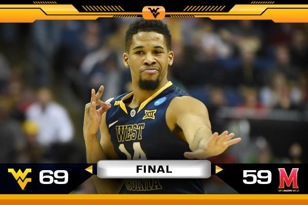 Cue Country Roads, @WVUhoops is going to the Sweet 16! #HailWV http://t.co/4v5ADl4XwQ