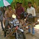 Check Out Puneeth Rajkumar's #RanaVikrama Movie Latest Working Stills!  http://t.co/qoXZj1KVyu