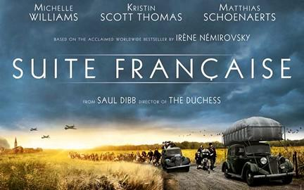 Don't miss 'SUITE FRANCAISE' Now playing. Info at http://t.co/v33EZxfREc http://t.co/yFL8BjdPcL