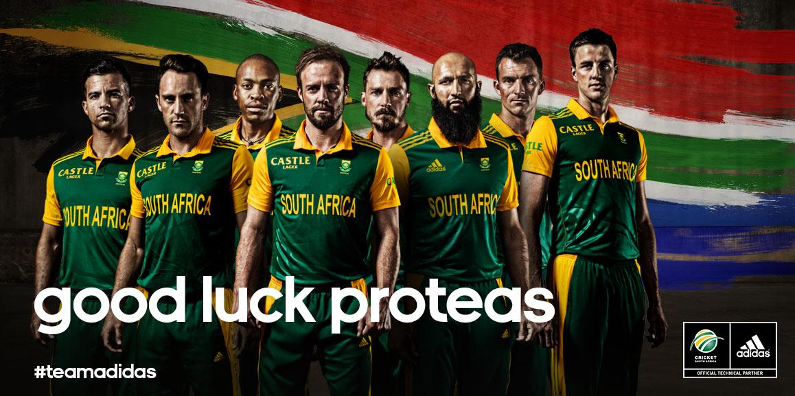 Good luck to the Proteas as they take on New Zealand in the Semi-Finals at #CWC15. #ProteaFire @OfficialCSA http://t.co/5QxygZEj9I