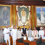 RT @jagdishshetty: Dr @Swamy39 & other leaders paying respects to Ram Manohar Lohia in Parliament House today http://t.co/HlCbiSjzou