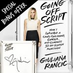 Preordered #GoingOffScript? U can get a special @rusticcuff designed by me w/my fav quote! http://t.co/4y2MeFh4pr