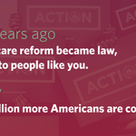 On the fifth anniversary of health care reform, see how America is #BetterWithObamacare: http://t.co/kzRIKpEvft