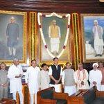 RT @rameshnswamy: Dr @Swamy39 paying  tributes to Rammanohar Lohia at the Parliament @jagdishshetty http://t.co/egmjgpAk93