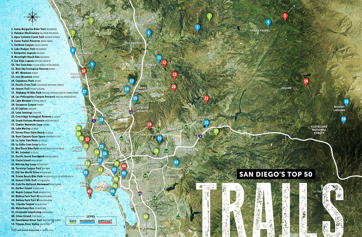 Hike the foothills or bike the beach, our city is made for exploring outdoors! http://t.co/9NZ3KaGWdZ #GetOutsideSD http://t.co/yRzAwN28Ol