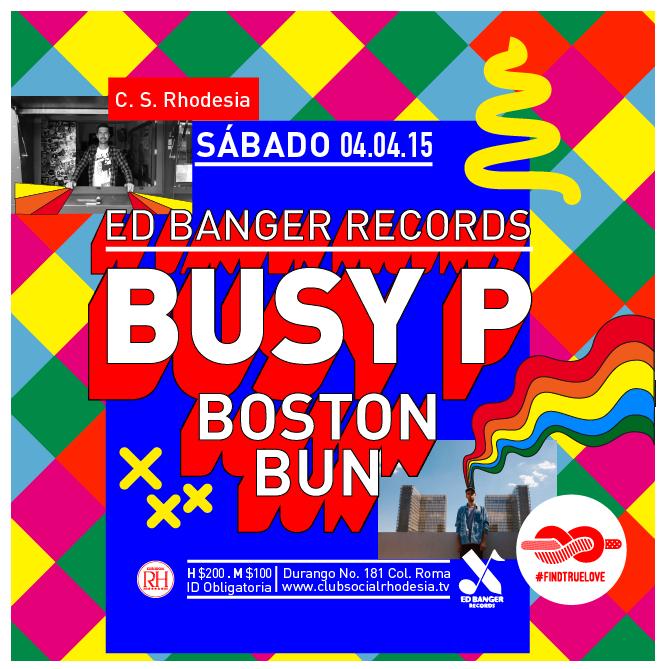 Nuevas buenas: ¡Busy P (@edbangerrecords) y @bbbostonbun estarán el otro sábado! http://t.co/HJNA3vMUOt