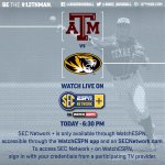 Aggies & Tigers open weekend series tonight on @SECNetwork Plus. Watch live here; http://t.co/bJ9UsgqjJX #12thMan http://t.co/M7kkI4NOmK