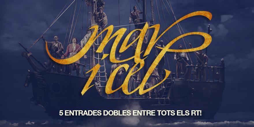 #MariCel fa 1.111 funcions i @dagolldagom ho celebra amb una sessió especial el 13 d'abril. Hi vols anar? Fes RT! http://t.co/Eo5dZ3wjsc