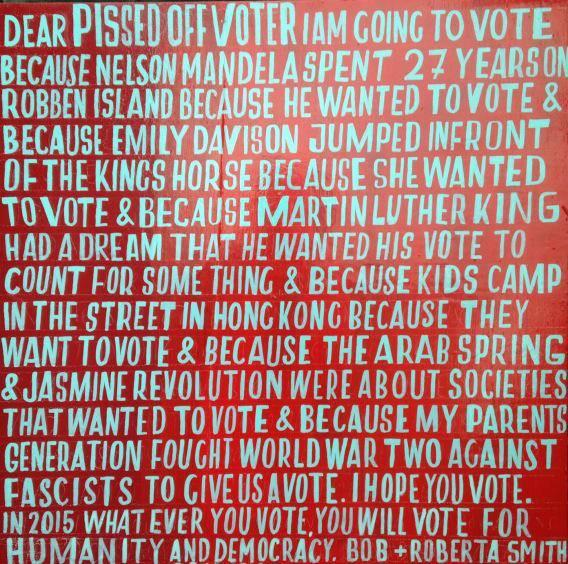 Because you should, no, you must. Thanks for the reminder @BobandRoberta #GE15 #GE2015 http://t.co/cwR3RKouUf