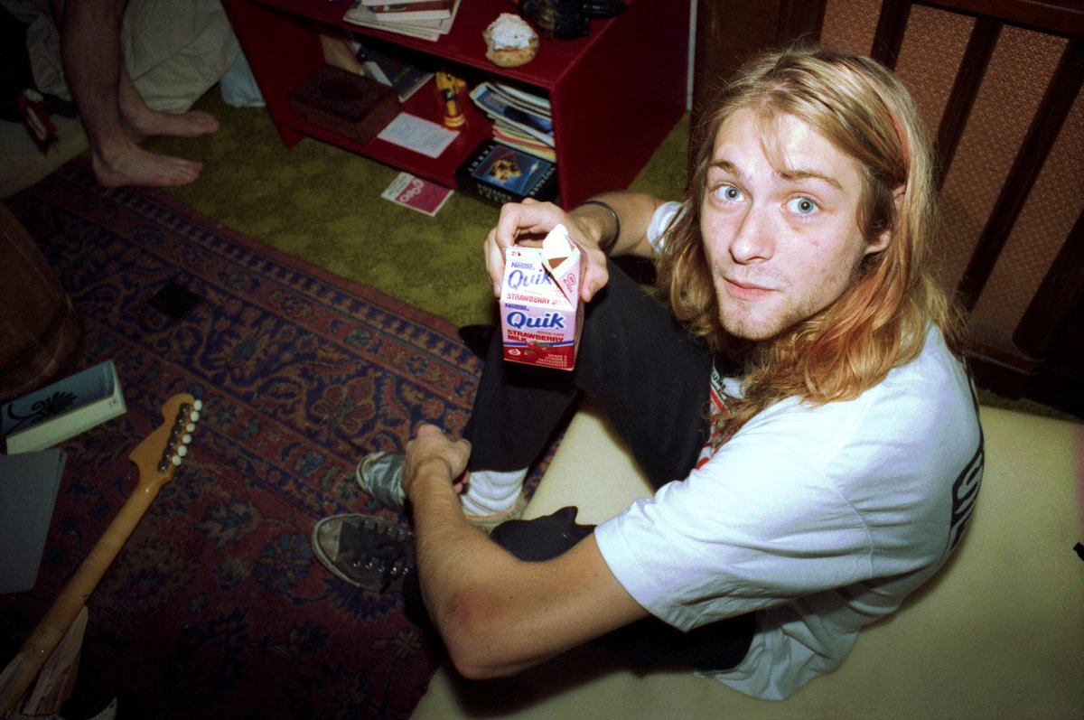21 years gone, we remember Kurt Cobain. @Nirvana. http://t.co/YMt3boWPEd
