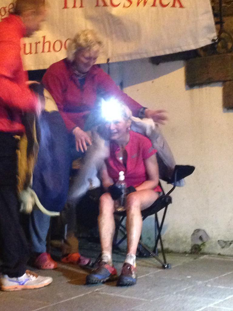 She's done it. @NickySpinks finishes  Bob Graham Round at 10.08pm approx breaking her women's record by 4 mins approx http://t.co/ReLaRTG0DH