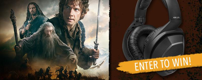 Enter for a chance to win a copy of @TheHobbitMovie  + #Sennheiser RS 175 Wireless Headphones! http://t.co/vea6mxkRde http://t.co/HQYmj3XzIu