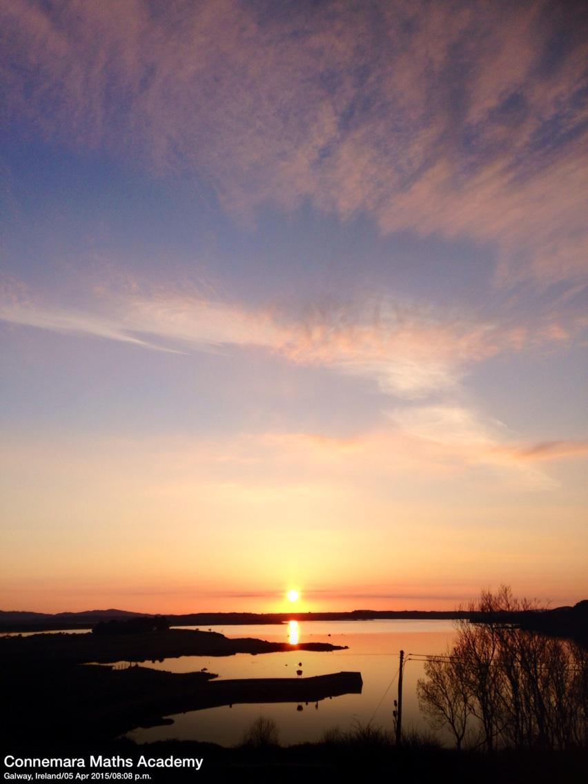 #Sunset #Connemara this eve @VacancesIrlande @renvyleweather http://t.co/FOVxraese4