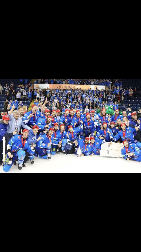 Ladies and gentlemen your 2014-2015 Elite League Playoff Champions the Genting Casino Coventry Blaze http://t.co/TOD4owfo6N