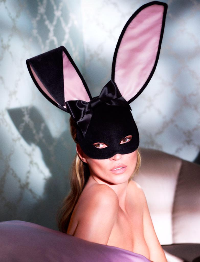 #KateMoss as the #EasterBunny