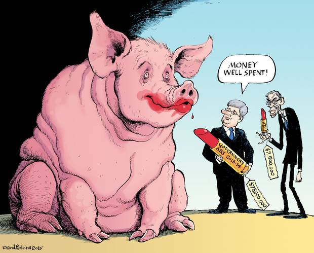 lipstick on a pig today s editorial cartoon by david parkins more