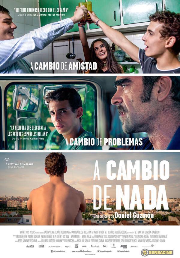 Pues en @lacompetencia_ ya tenemos cartel oficial de nuestra primera película #ACambioDeNada #ilusión #estreno8demayo http://t.co/SbpxHBXQ7O