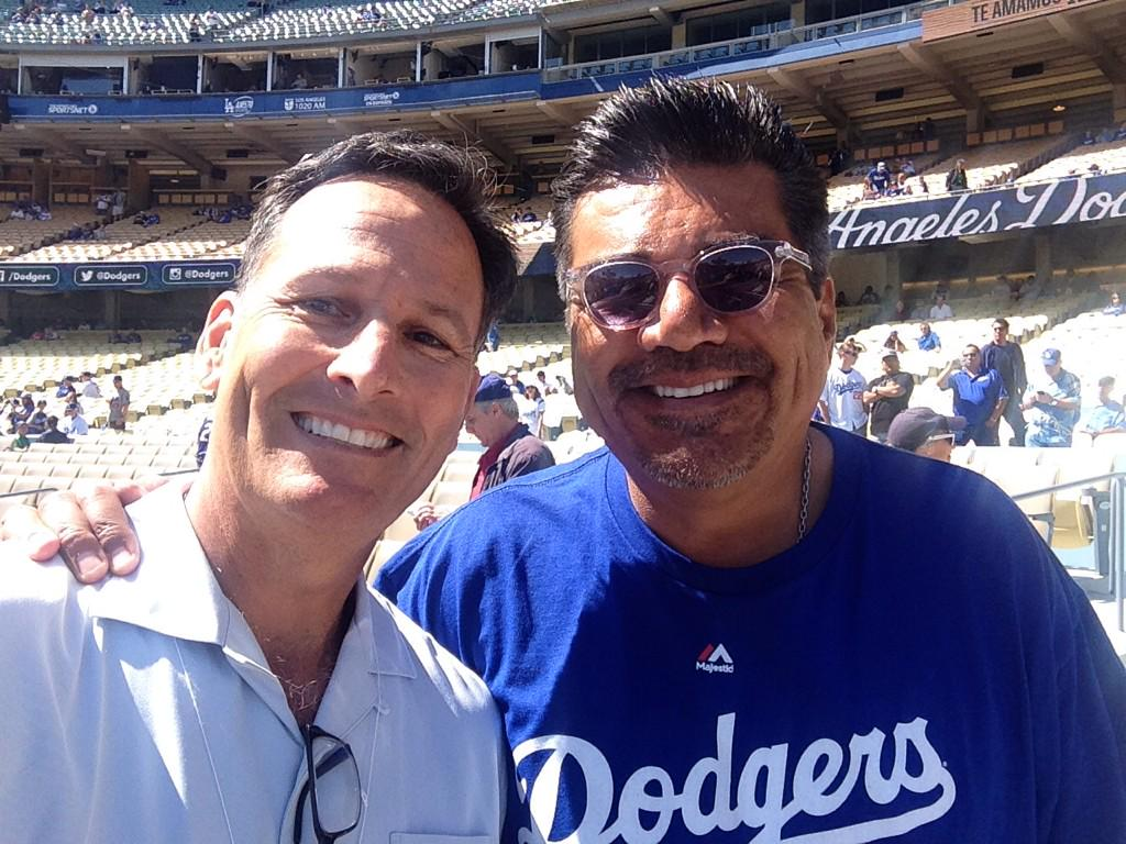 """Why does @georgelopez love @dodgers so much? """" I was conceived here"""" http://t.co/ODX4Y0OwqJ"""