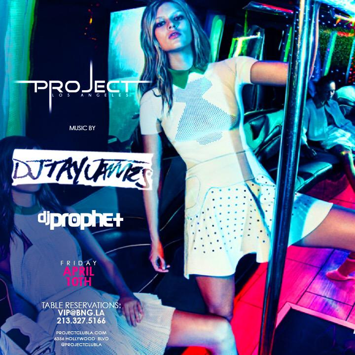 FRIDAY I'm #ROASTING the turntables @PROJECTCLUBLA w/ @justinbieber s DJ @DJTayJames Come thru. Buy BOTTLES! #DOiT http://t.co/Ujqk5RACcw