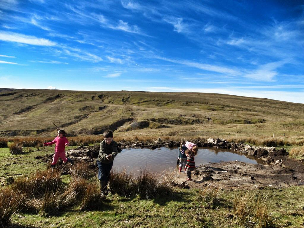 It's not easy building a pond on a hill. http://t.co/bT0zDVb9bA
