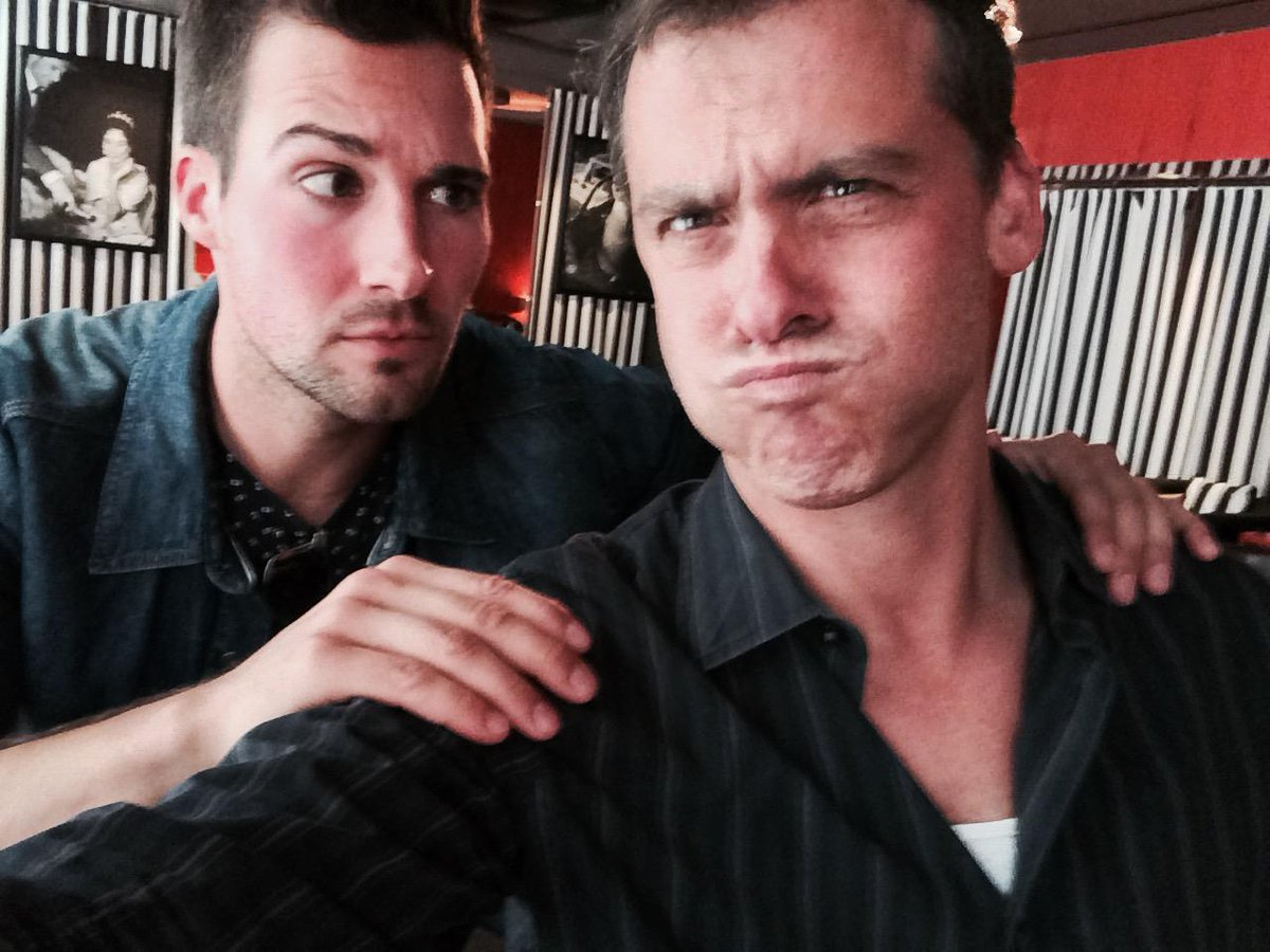 making faces with #seedsofyesterday's @jamesmaslow during thewrap's #DrinkingWiththeStars #flowersintheattic http://t.co/8A2U8bQta2