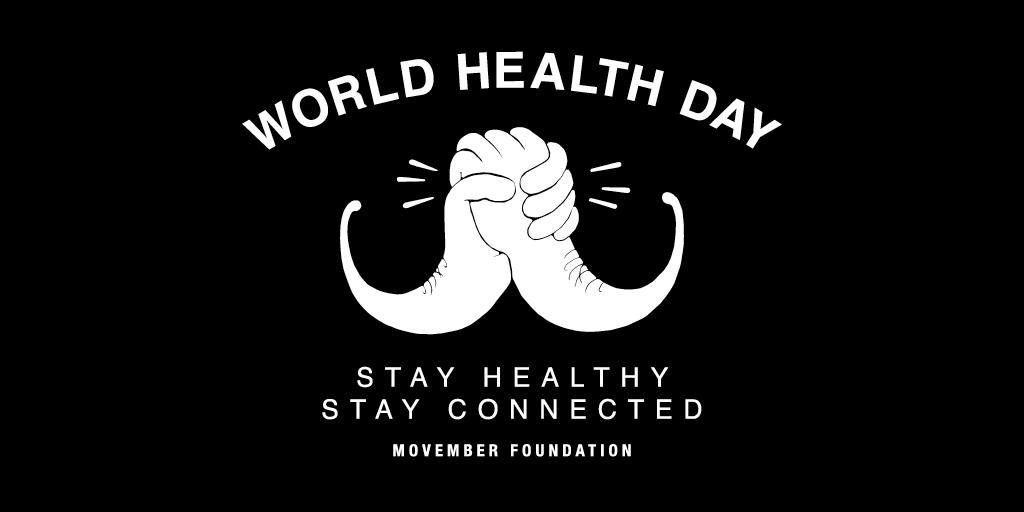 Stay healthy. Stay connected. On #WorldHealthDay let a mate know they can rely on you. http://t.co/NnLdd9qQsb http://t.co/d7BRNfObtw