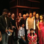 The play 'Daddy'  in Karachi. Thank you Imran and Danish for keeping my story of my battle with alcoholism  'alive'.
