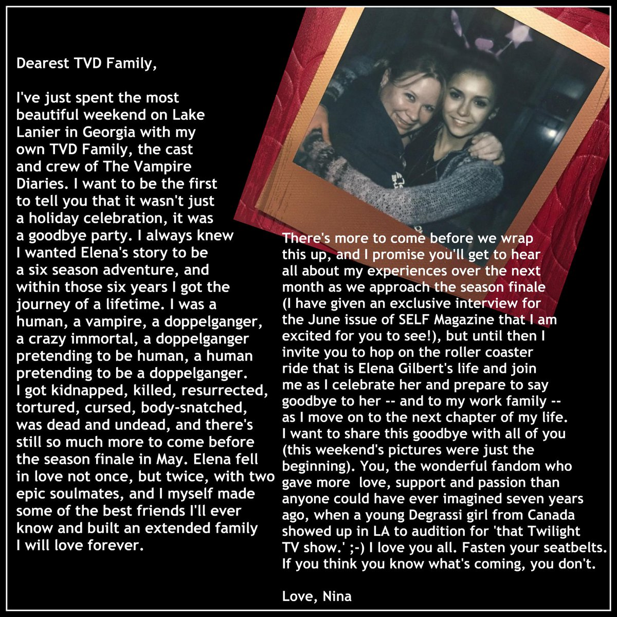 BREAKING NEWS! A message from @ninadobrev #NinaWeWillMissYou https://t.co/hQQEtNkhtD http://t.co/Nat2vXPdZr