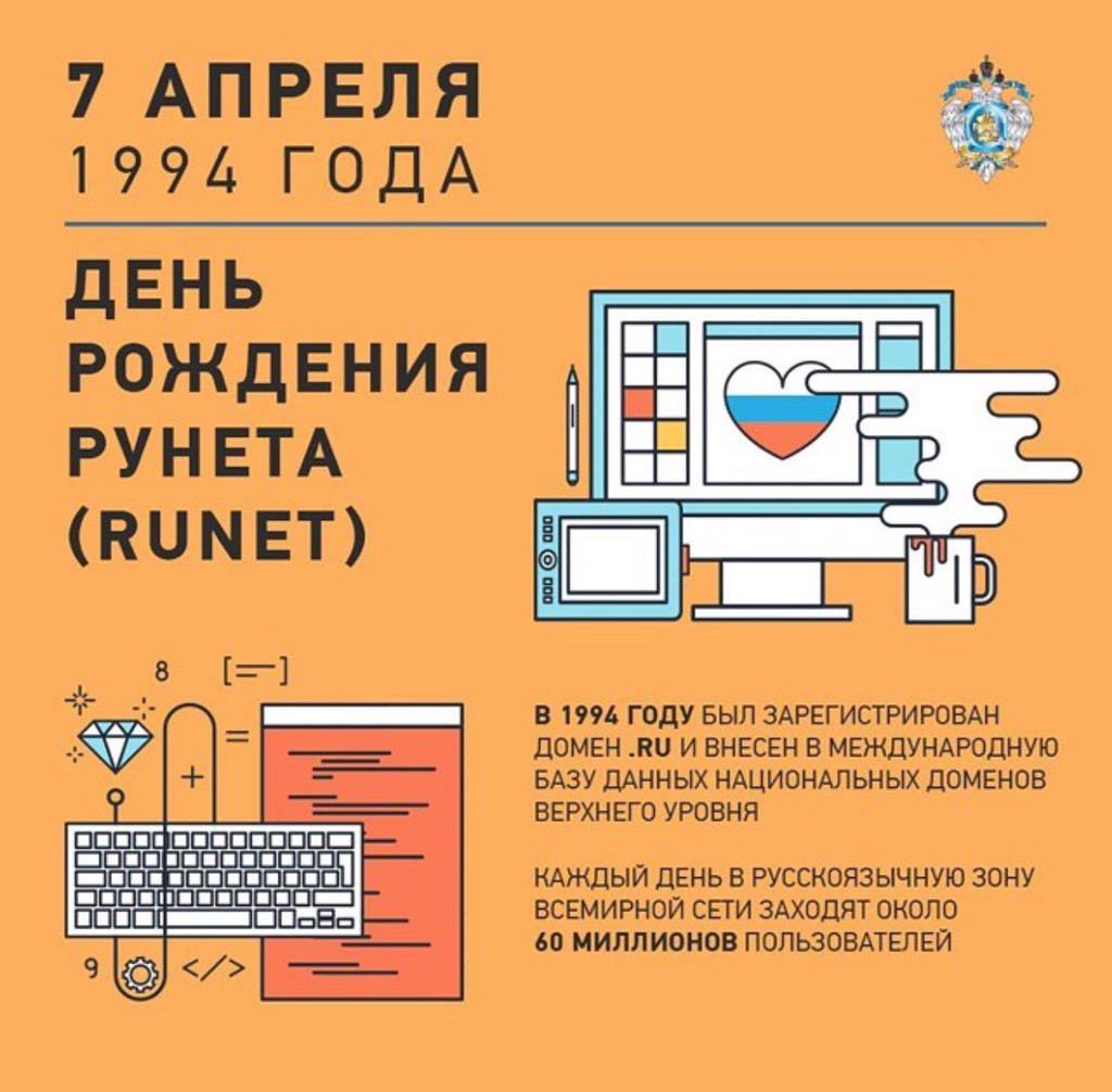 С Днем рождения, рунет! http://t.co/YqqRhEsNOV