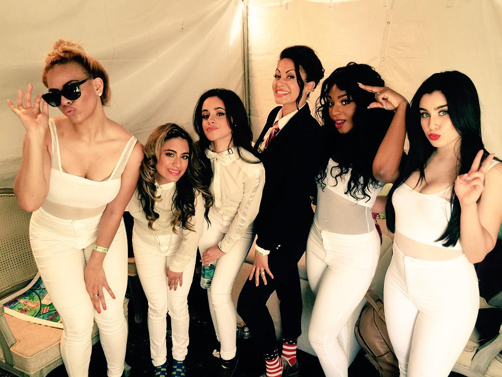Lovely and talented ladies! You go girls! @FifthHarmony http://t.co/tTKypfGOfm