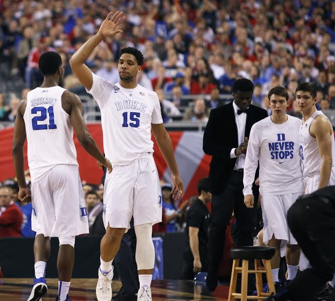 5 GOLDEN RINGS: Duke knocks off Wisconsin 68-63 for national title No. 5, its 2nd in 5 years: http://t.co/6JqHTYVUMY http://t.co/vRuC9gIfOD