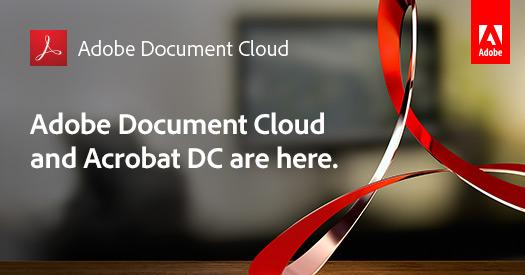 Reimagined. Revolutionized. And available now. The new Acrobat DC is here: http://t.co/4MQIai5iHs #AdobeDocCloud http://t.co/wafkXYbbb0