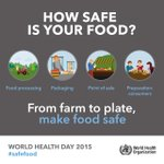 RT @UN_Women: Today is #WorldHealthDay! Learn more about how to keep your food safe from @WHO: http://t.co/AC7HpguHxA #safefood http://t.co…