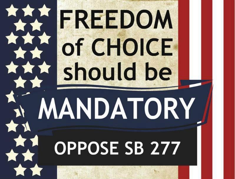 #noforcedvax #sb277 #stopsb277 #opposesb277 #parentalrights #keepparentalrights #novaccinemandates #CDCwhistleblower http://t.co/Nu0TsIyPr4