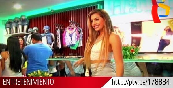 #Gamarra: #MilettFigueroa inaugura tienda de ropa en el emporio comercial http://t.co/K6anM87uYK http://t.co/mfPjdb7NGT