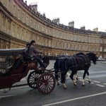 Treat yourself to a horse drawn carriage ride around beautiful #Bath. Champagne too ☺️ http://t.co/euNVCBGP5R