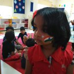 RT @iVishnuManchu: My little darling Vivi supporting India!!!! http://t.co/W8Nh4fylFc