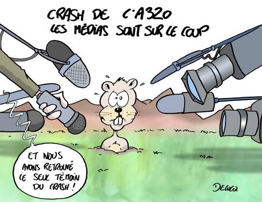 La marmotte. (Par Delucq) http://t.co/0YJXjWytaf