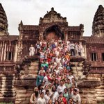 A journey in time and inner space - Ancient Angkor Wat (in Sanskrit, Aghora means Shiva - most beautiful) http://t.co/owNcaC6nRN