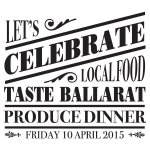 Tickets now selling for the Taste Ballarat Produce Dinner, available from the George Hotel. http://t.co/KeMmw1Btnx