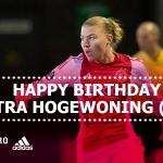 #AjaxVrouwen-speelster Petra Hogewoning is vandaag 29 jaar geworden. Gefeliciteerd Petra!