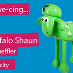 Were proud to introd-ewe-ce our #shauninthecity sculpture - The Gruffalo Shaun designed by Axel Scheffler! http://t.co/KmJN1dfIoB