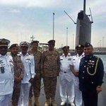 وزارة الدفاع الباكستانية أمرنا غواصاتنا بالسير نحوبحر العرب ومضيق هرمز واي اعتداء على السعودية اعتداءعلى باكستان http://t.co/V0Fngoe81t